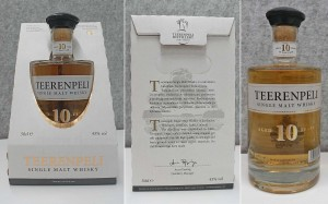 Cool whisky package | The Teerenpeli 10 year old has craftmanship even in the package