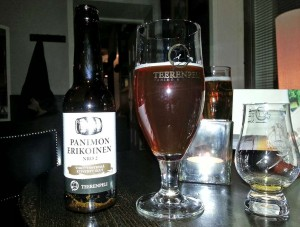 Teerenpeli Panimon Erikoinen, beer matured in whisky casks