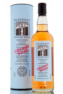 Kilkerran Work In Progress 5th Release of Sherry Wood review