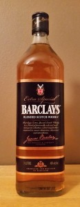 Barclays Blended Scotch Whisky review