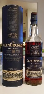 GlenDronach 18 year old Allardice single malt whisky review