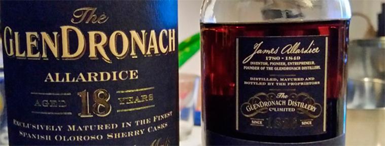 GlenDronach 18yrs Allardice