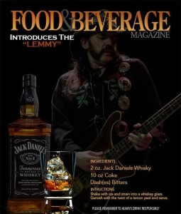 Jack Daniel's and Coke is called Lemmy from now on