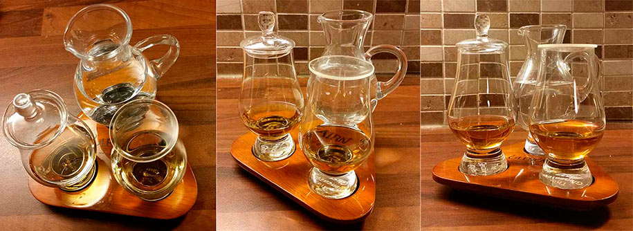 Whisky glassware set by Glencairn