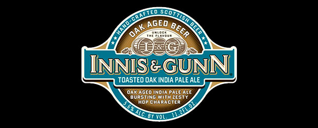 Innis & Gunn Toasted Oak Indian Pale Ale label logo