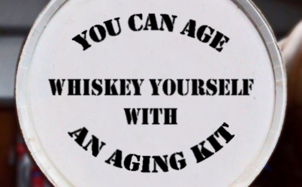 Whiskey aging kit for making own whisky