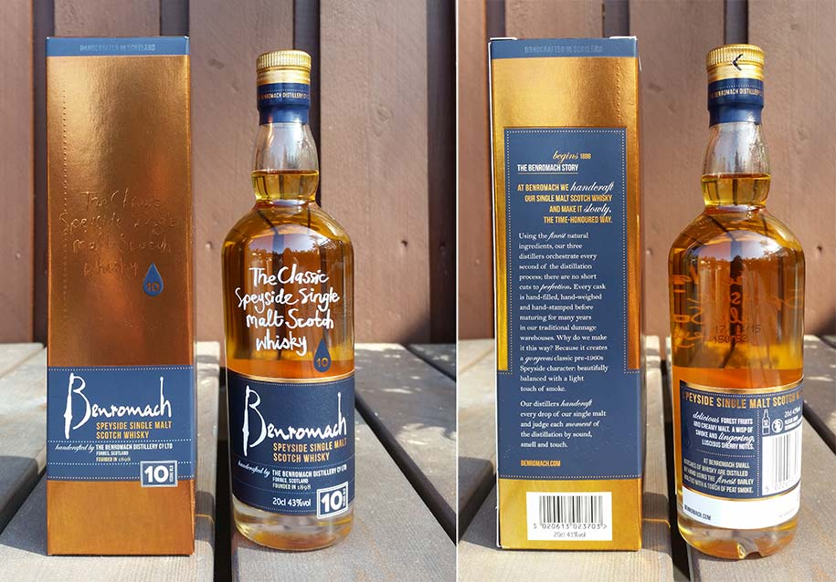 Benromach 10 year old whisky review