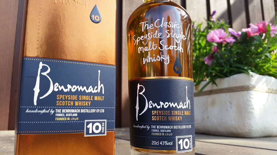 Benromach 10YO single malt whisky