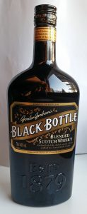 Black Bottle blended Scotch whisky, the new bottling