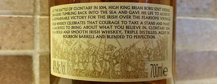 Irish Blended Whiskey | Clontarf Classic Blend