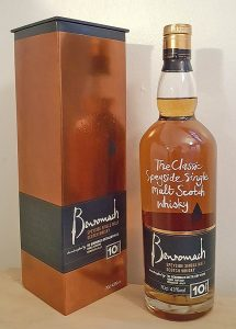 Benromach 10 yo single malt whisky review