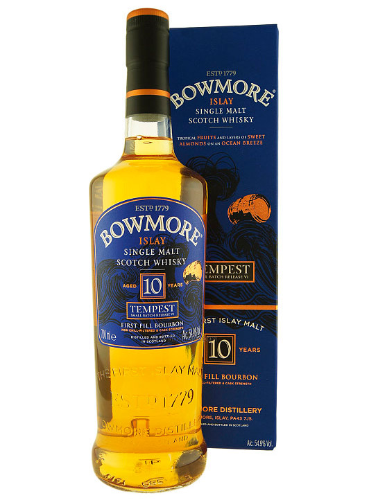 Bowmore Tempest 10 year old review