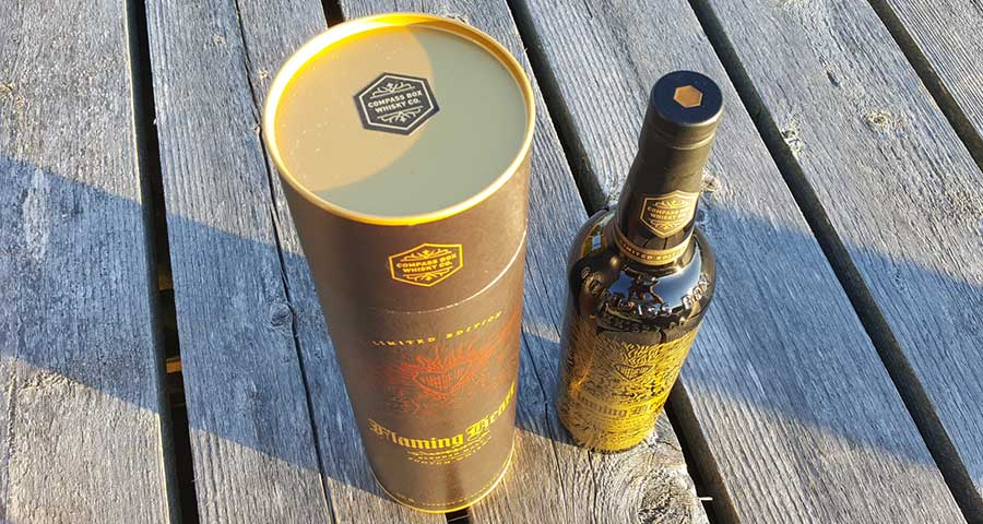 Compass Box Flaming Heart 15th Anniversary Edition