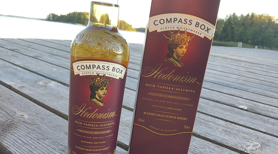 Compass Box Hedonism Blended Grain Whisky review