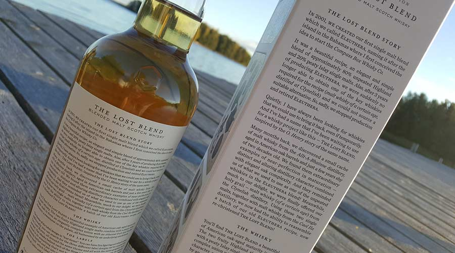 Compass Box The Lost Blend - Blended Malt Whisky review