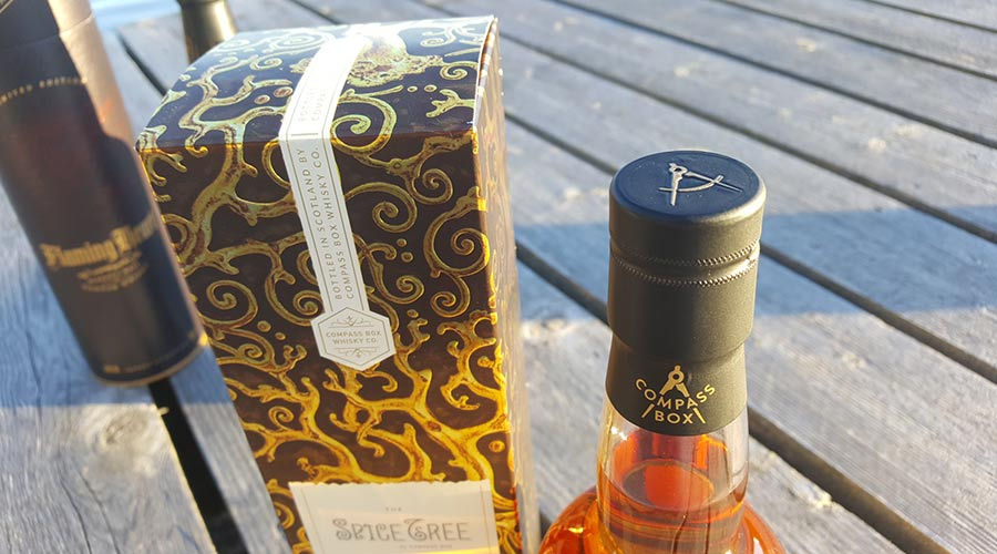 Compass Box Spice Tree package