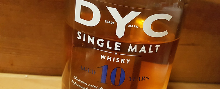 DYC 10 year old single malt whisky