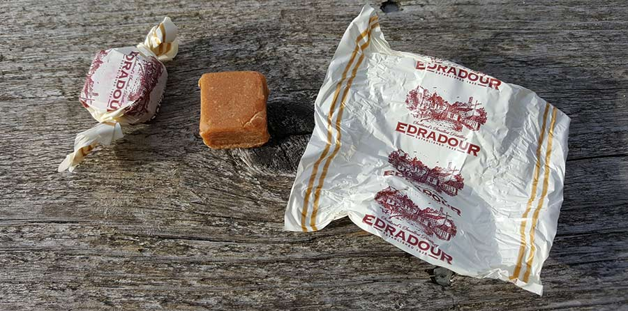 Edradour Hand Made Whisky Fudge review by WhiskyRant!