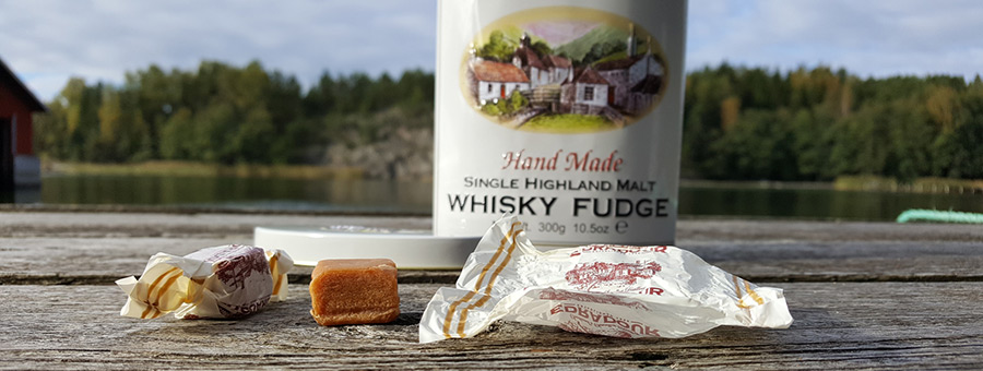 Edradour Highland Whisky Fudge review by WhiskyRant!