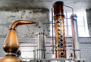 The Helsinki Distilling Company copper pot still