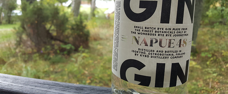 Napue Gin by Kyrö Distillery