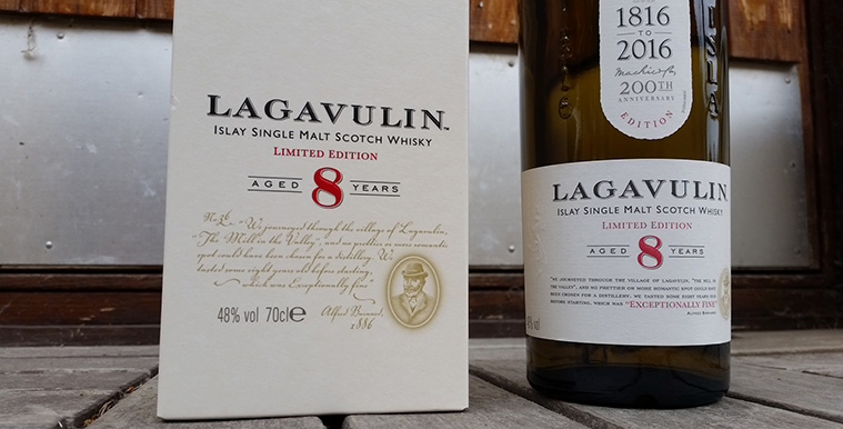 Lagavulin 8YO single malt whisky