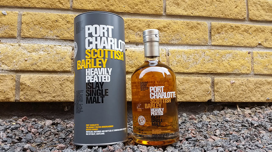Port Charlotte Scottish Barley review | Heavily Peated Single Malt Whisky