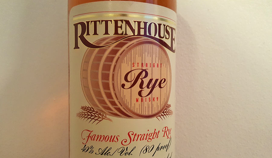 Rittenhouse Straight Rye review – 80 Proof