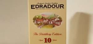 Edradour 10 year old package