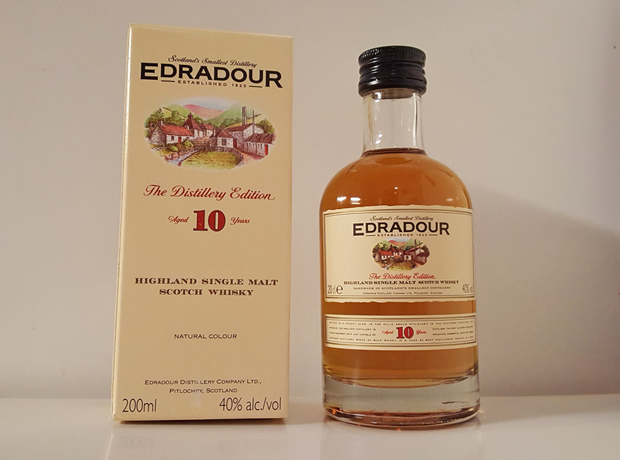 Edradour 10 year old single malt whisky review