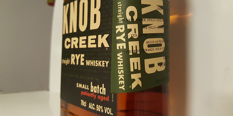 Knob Creek Rye Whiskey review