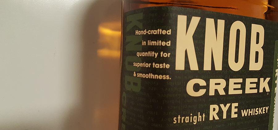 Knob Creek Rye Whiskey tasting notes by WhiskyRant