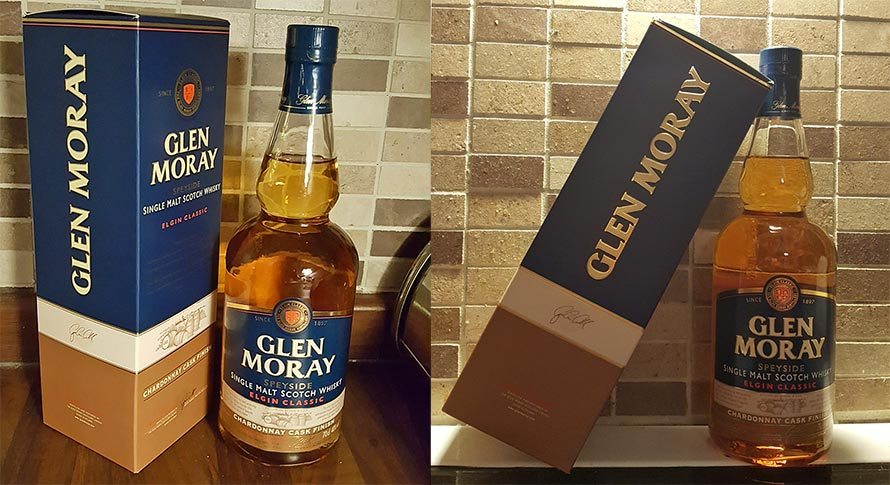 Glen Moray Single Malt Whisky with a Chardonnay Cask Finish - WhiskyRant review