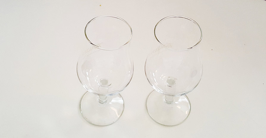 Copita crystal Scotch glasses