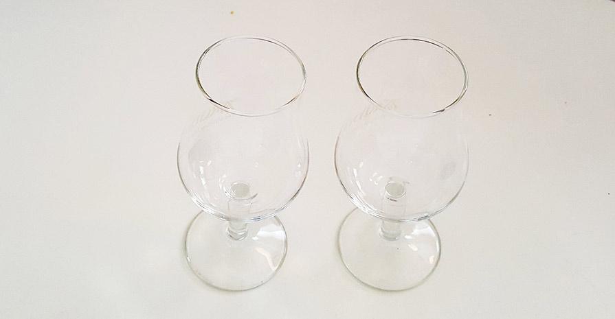 Copita crystal Scotch glasses