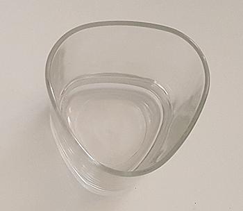 Scotch whiskey tumbler glass
