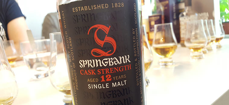 Springbank 12YO Cask Strength Whisky
