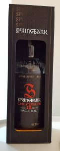 Springbank 12YO Cask Strength Single Malt Whisky Review