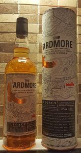 Ardmore Legacy Single Malt Whisky review