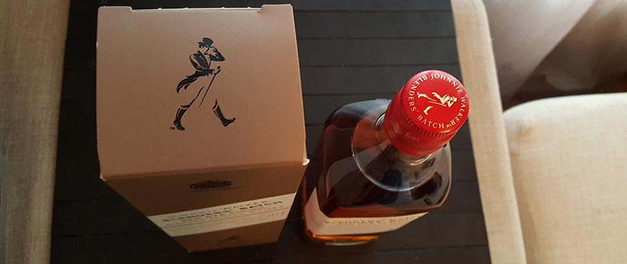 Johnnie Walker Blender's Batch - Red Rye Finish Edition