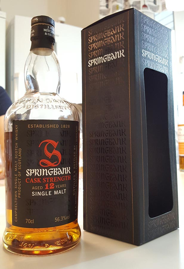 Springbank 12 year old CS, Batch 13 56.3% ABV - single malt whisky review