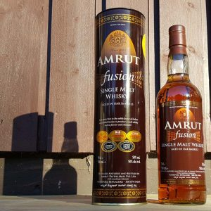 Amrut Fusion Single Malt Whisky review