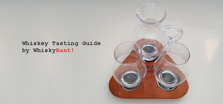 Guide for tasting whiskey