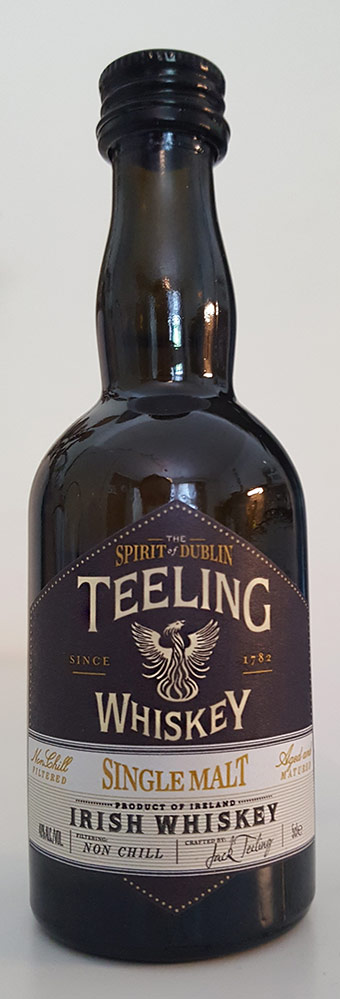 Teeling Irish Single Malt Whiskey Review