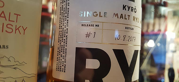 Malted Rye Whisky by Kyrö Distillery