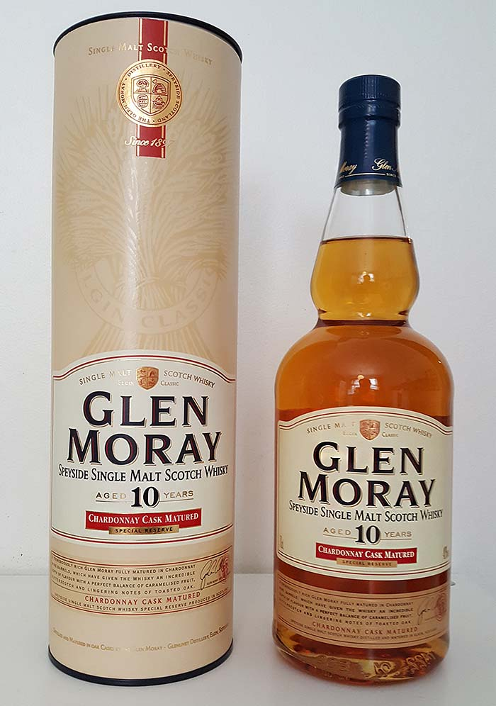 Glen Moray 10 year old Chardonnay Cask whisky review