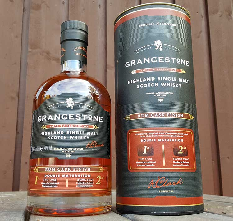 The Grangestone Highland Rum Cask Finish Single Malt Review