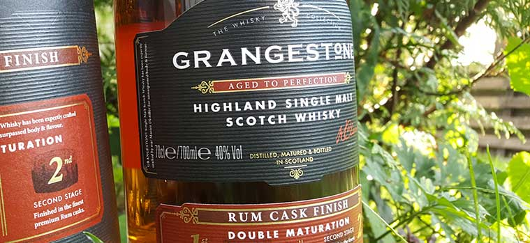 Grangestone Highland Malt Rum Cask Finish