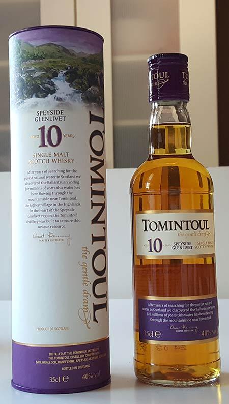 Tomintoul 10YO Single Malt Scotch Whisky Review