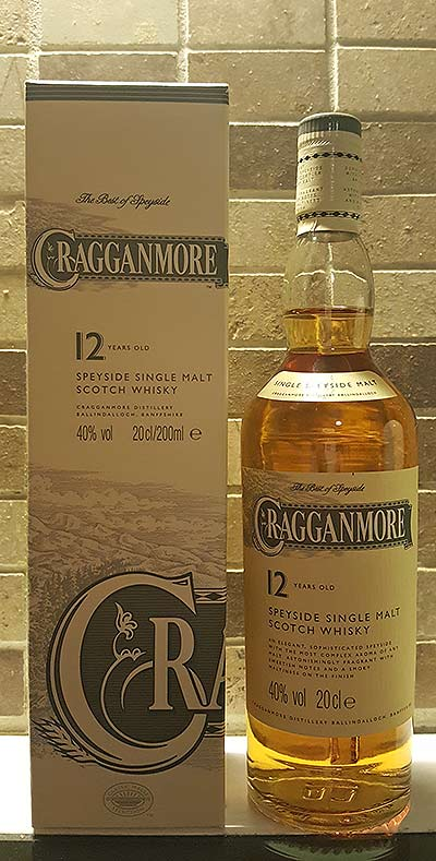 Cragganmore 12YO single malt whisky review